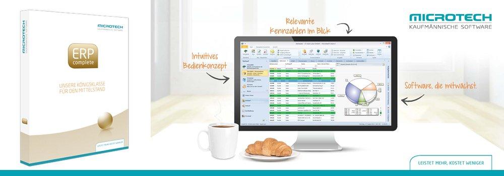 ERP-Softwware von Microtech büro+